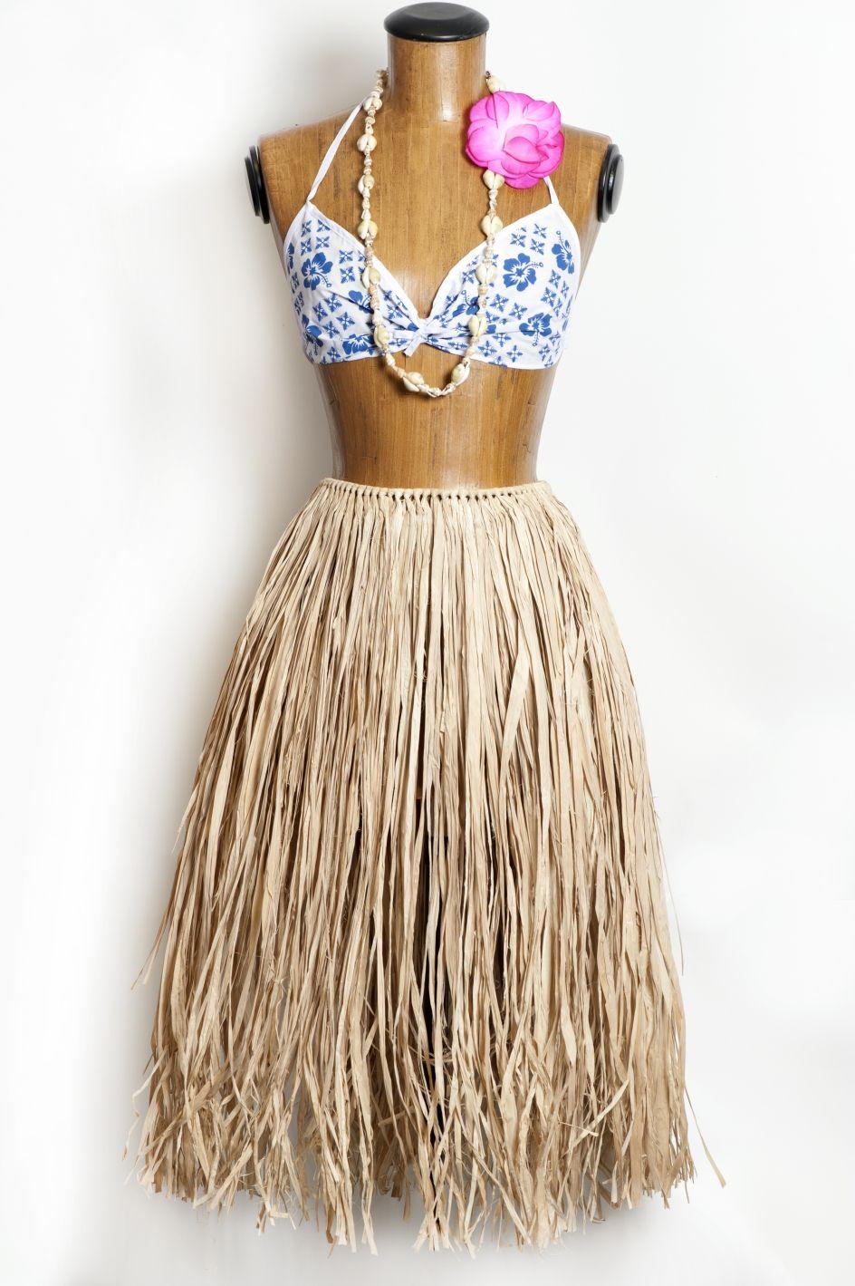 Hula Skirt Natural Color
