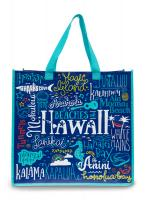 Beaches of Hawaii Reusable Bag Front