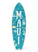 Maui Wooden Surfboard