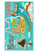 Maui Blanket Beach Towel