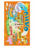 Oahu Blanket Beach Towel