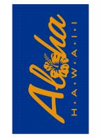Royal Blue Blanket Beach Towel