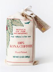 Wings of the Morning Kona Coffee Whole Bean