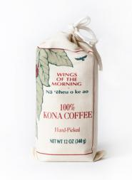 Wings of the Morning Kona Coffee Ground