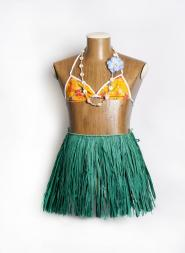 Kids Hula Skirt Green