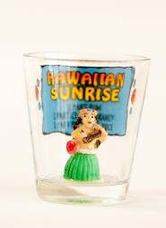 Hawaiian Sunrise Shot Glass