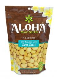 Aloha Mac Nuts - Dry Roasted with Sea Salt