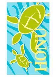 Honu (Turtle) Beach Towel