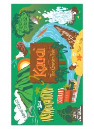 Kauai Blanket Beach Towel