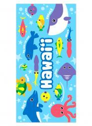 Keiki Sea Life Beach Towel