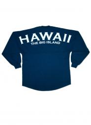 Hawaii The Big Island Spirit Jersey Back