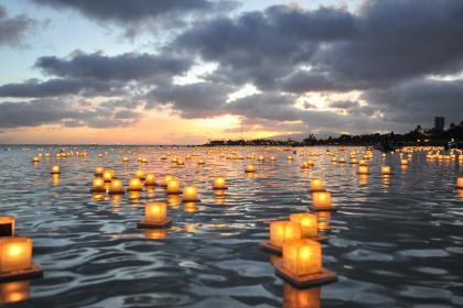 memorial day floating lantern ceremony shops of hawaii