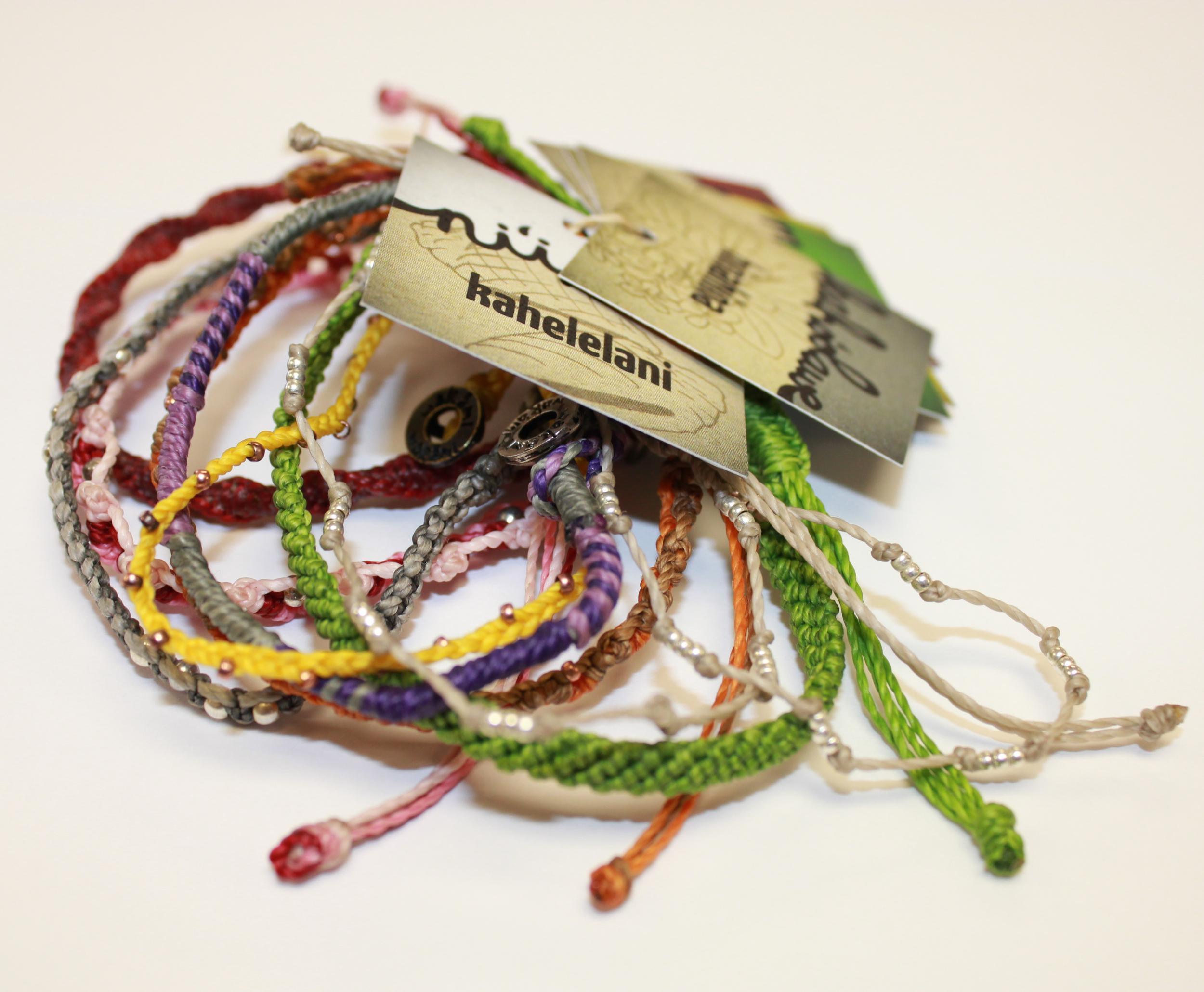 Hawaiian Islands Wakami Bracelets